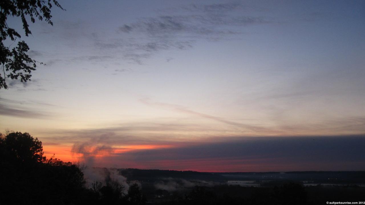 Twilight Sky (spring twilight colors,